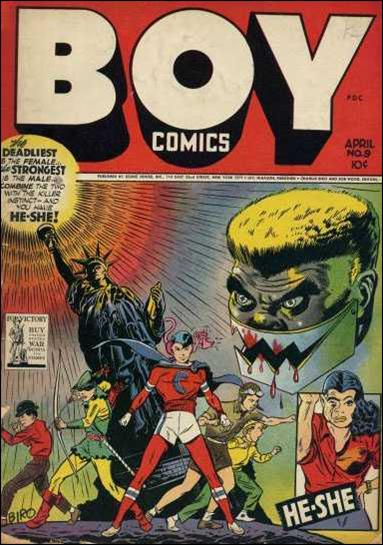 Boy Comics 9-A by Lev Gleason Productions
