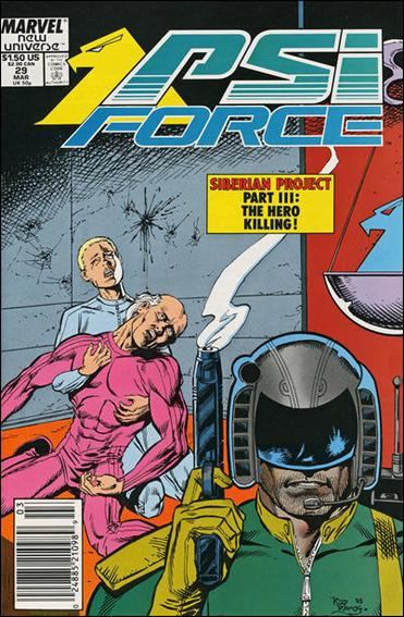 Psi-Force 29-A by Marvel
