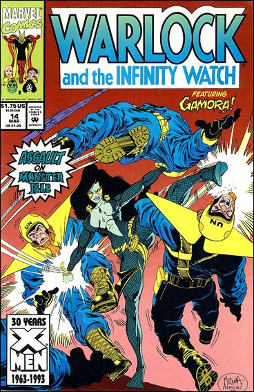 Warlock and the Infinity Watch 14-A by Marvel
