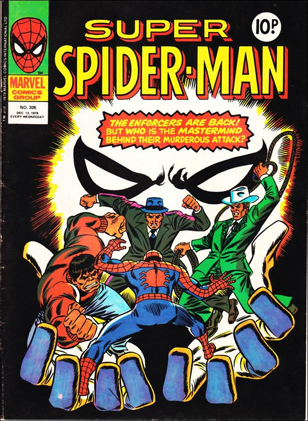 Spider-Man: Comics Weekly (UK) 305-A by Marvel UK