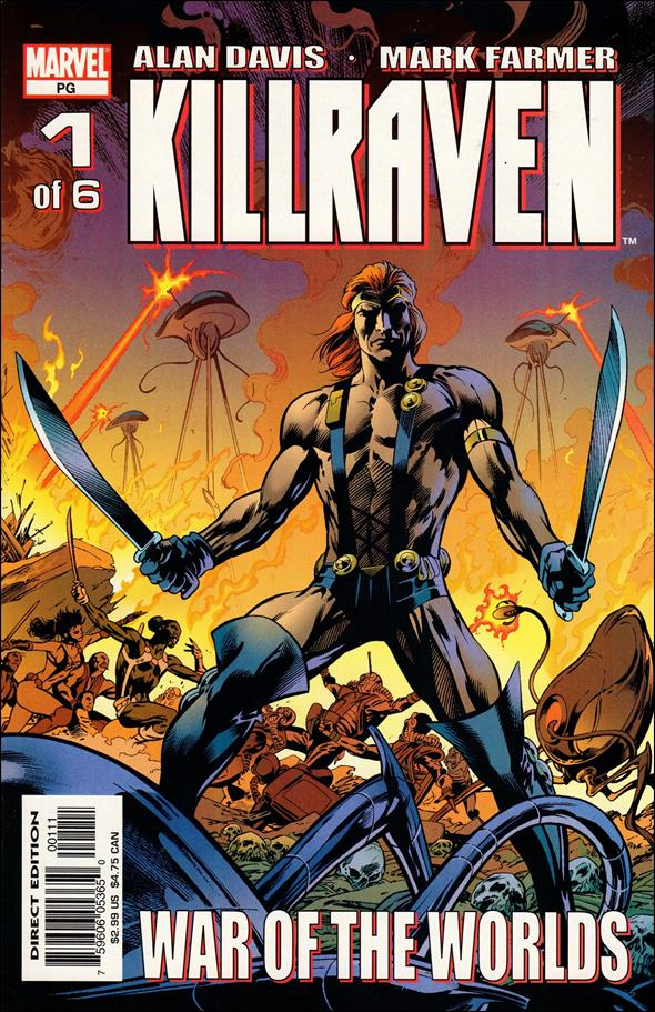 Killraven (2002) 1-A by Marvel