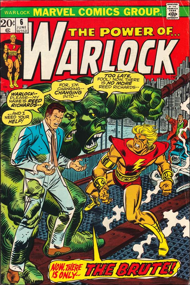 Warlock (1972) 6-A by Marvel
