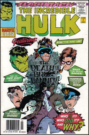 Incredible Hulk (1968) -1-B by Marvel