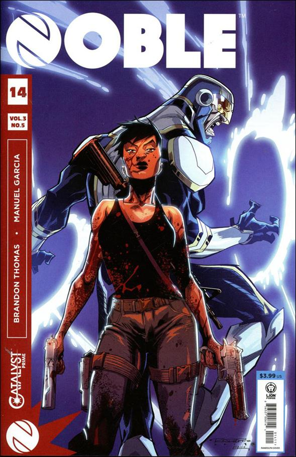 Noble 14-A by Lion Forge Comics
