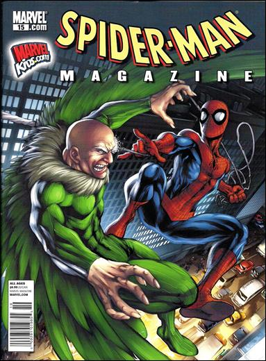 Spider-Man Magazine (2008) 15-A by Marvel