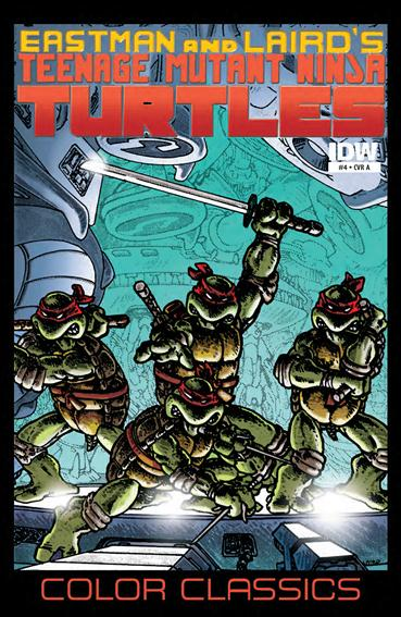 Teenage Mutant Ninja Turtles Color Classics 4-A by IDW