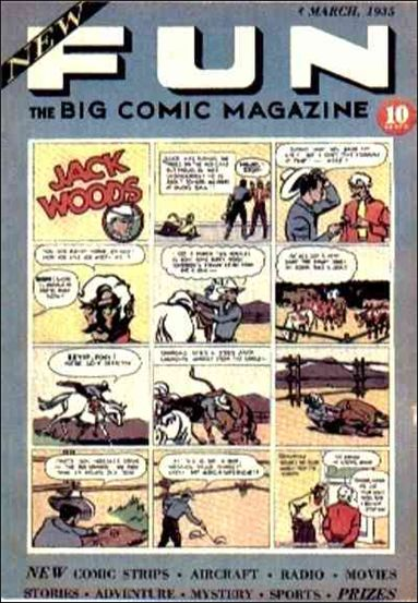 New Fun Comics 2-A by DC