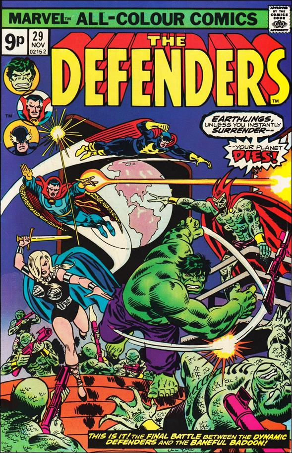 Defenders (1972) 29-B by Marvel