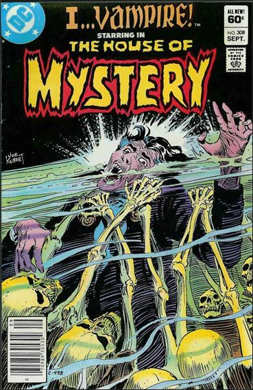 House of Mystery (1951) 308-A by DC