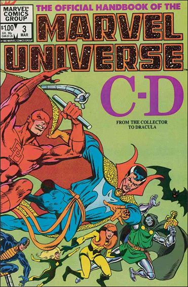 Official Handbook of the Marvel Universe (1983) 3-A by Marvel
