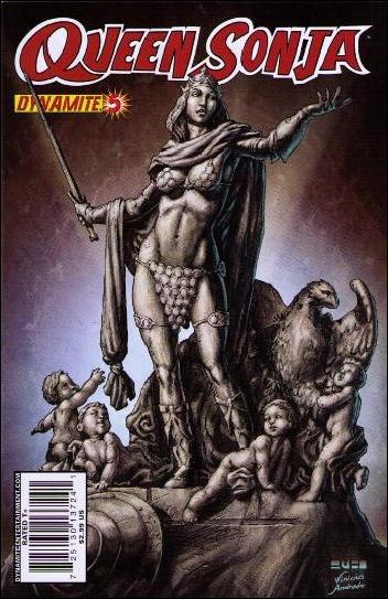 Queen Sonja 5-B by Dynamite Entertainment
