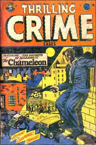 Thrilling Crime Cases 43-A by Star Publications