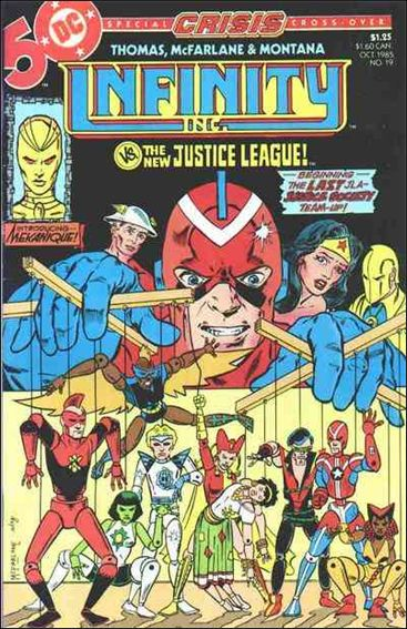 Infinity Inc. (1984) 19-A by DC