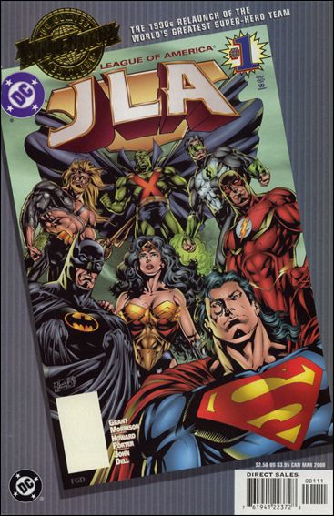 Millennium Edition: JLA 1-A by DC