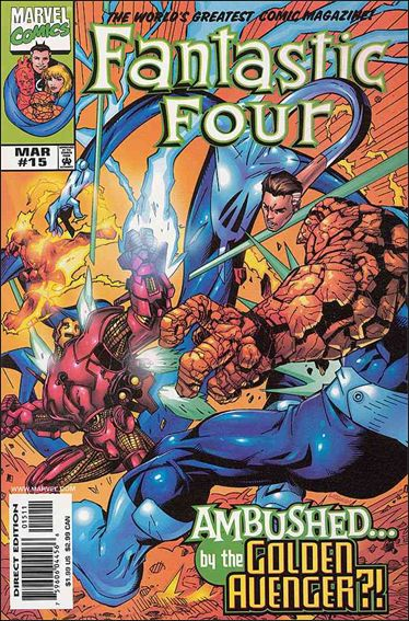 Fantastic Four (1998) 15-A by Marvel