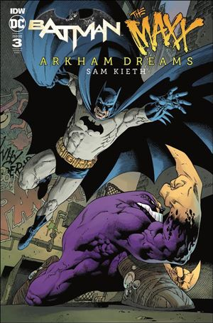 Batman/The Maxx: Arkham Dreams 3-C