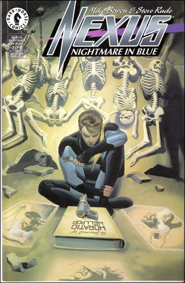 Nexus: Nightmare in Blue 3-A by Dark Horse