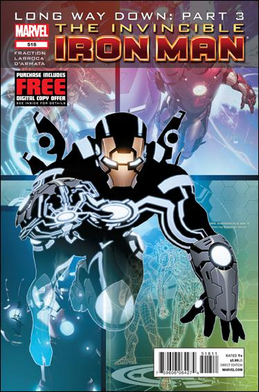 Invincible Iron Man (2008) 518-A by Marvel