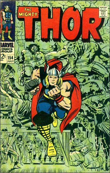 Thor (1966) 154-A by Marvel