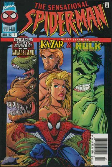 Sensational Spider-Man (1996) 15-B by Marvel