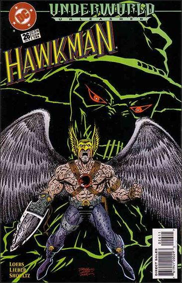 Hawkman (1993) 26-A by DC