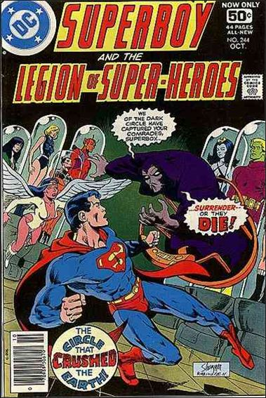 Superboy and the Legion of Super-Heroes 244-A by DC