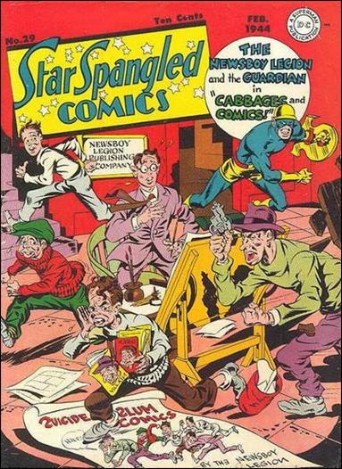 Star Spangled Comics (1941) 29-A by DC