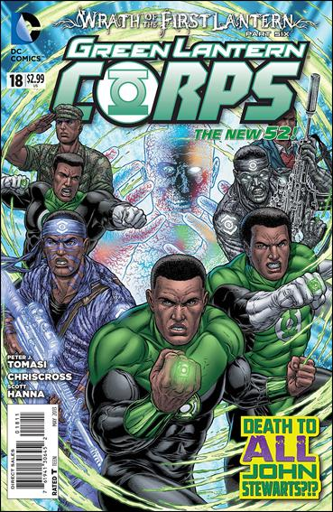 Green Lantern Corps (2011) 18-A by DC