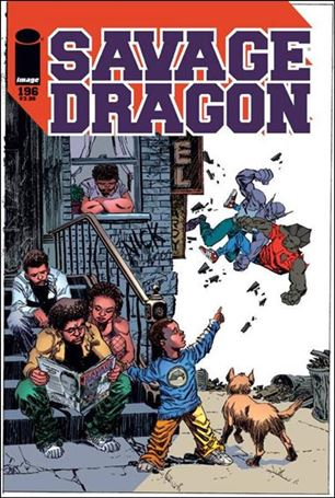 Savage Dragon (1993) 196-A