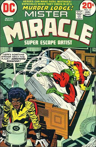 Mister Miracle (1971) 17-A by DC