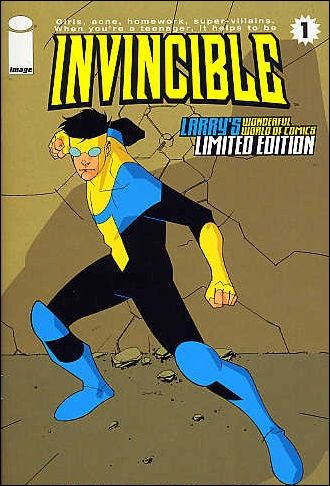 Invincible 1-B by Image