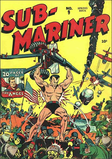 Sub-Mariner (1941) 9-A by Atlas
