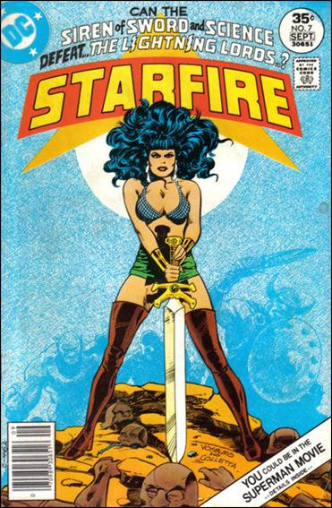 Starfire (1976) 7-A by DC