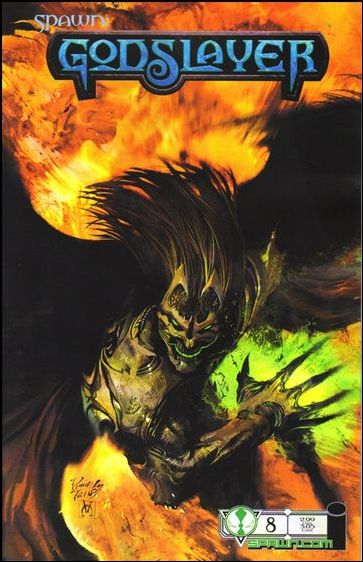 Spawn Godslayer (2007) 8-A by Image