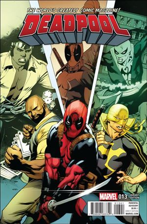 Deadpool (2016) 13-D