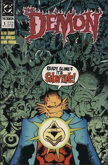 Demon (1990) 5-A by DC