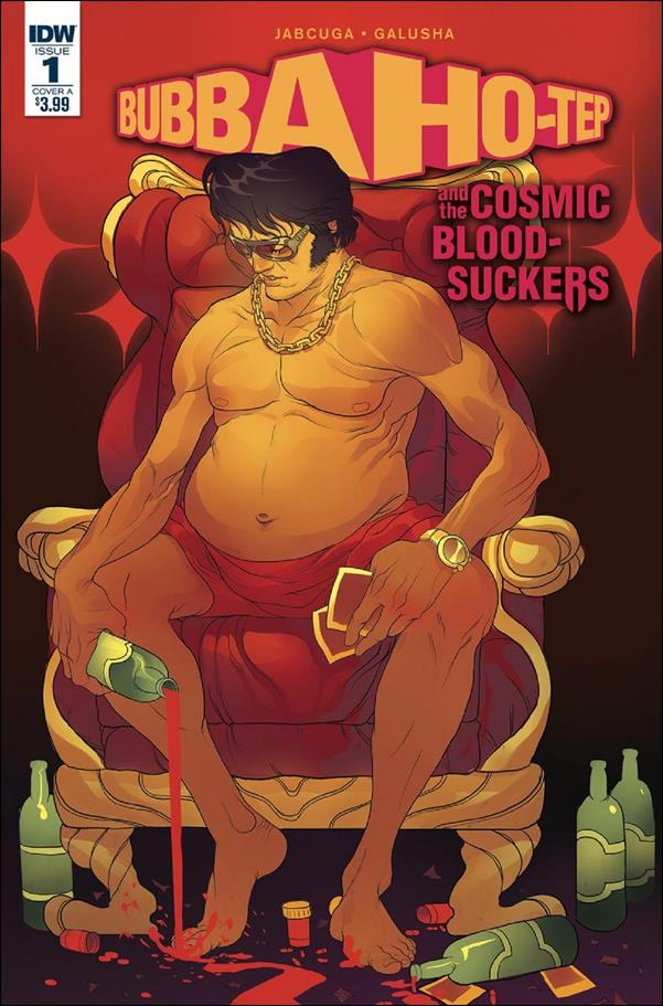 Bubba Ho-Tep and the Cosmic Blood-Suckers 1-A by IDW