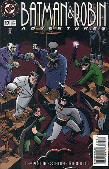 Batman and Robin Adventures 17-A by DC