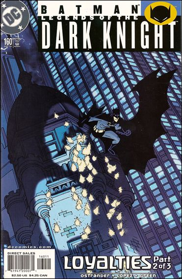 Batman: Legends of the Dark Knight 160-A by DC
