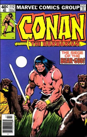 Conan the Barbarian (1970) 112-A by Marvel