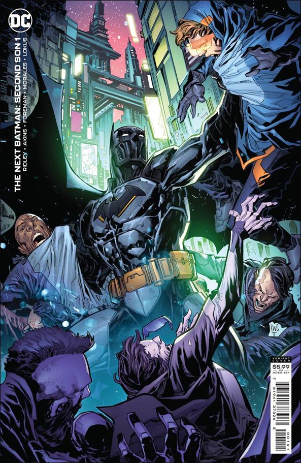 Next Batman: Second Son 1-B by DC