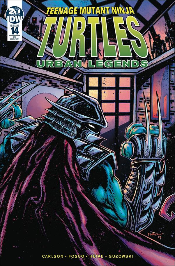 Teenage Mutant Ninja Turtles: Urban Legends 14-C by IDW
