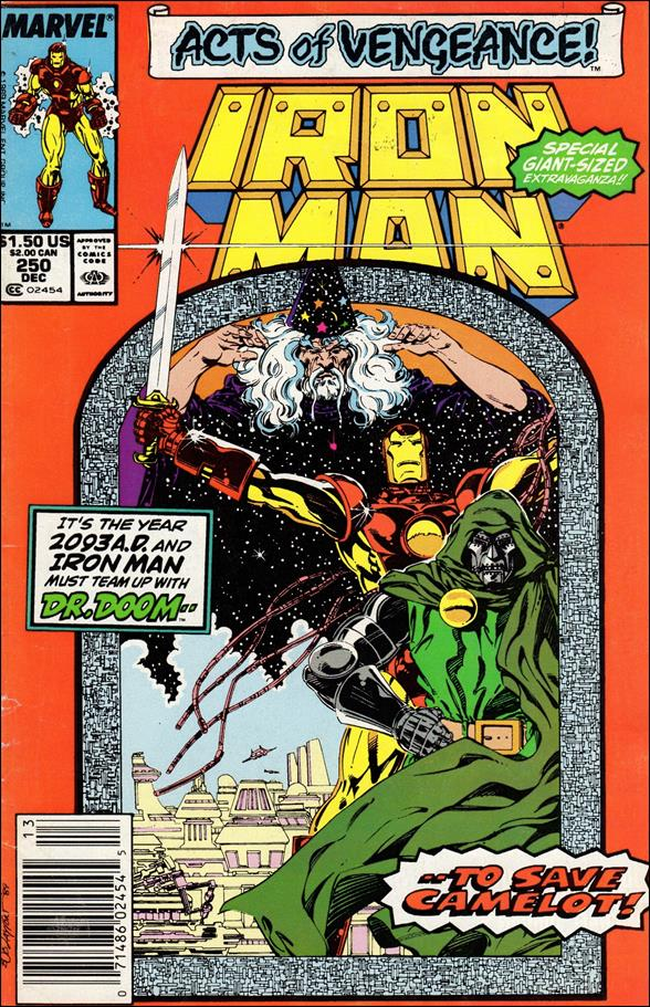 Iron Man (1968) 250-A by Marvel