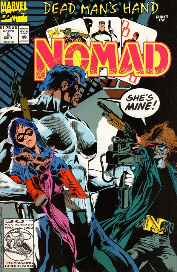 Nomad (1992) 5-A by Marvel