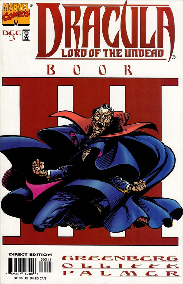 Dracula: Lord of the Undead 3-A by Marvel