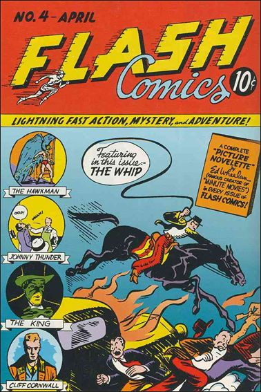Flash Comics (1939) 4-A by DC