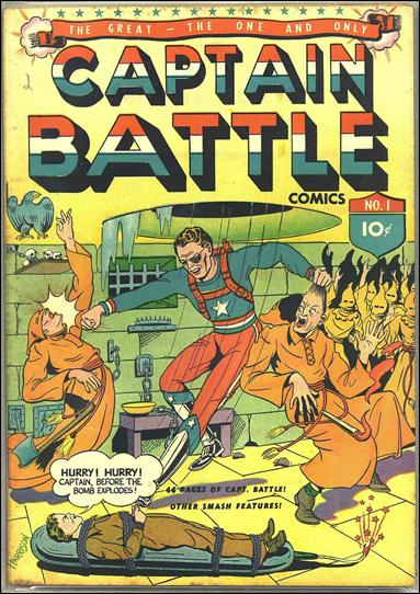 Captain Battle Comics 1-A by Lev Gleason Productions