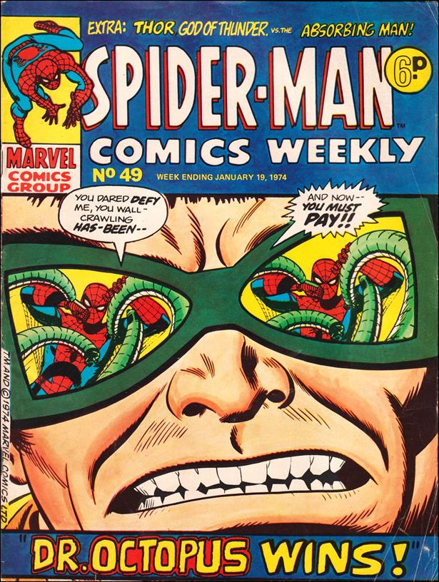 Spider-Man: Comics Weekly (UK) 49-A by Marvel UK