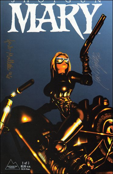 Shotgun Mary (1995) 1-C by Antarctic Press
