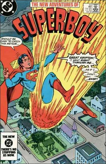 New Adventures of Superboy 53-A by DC